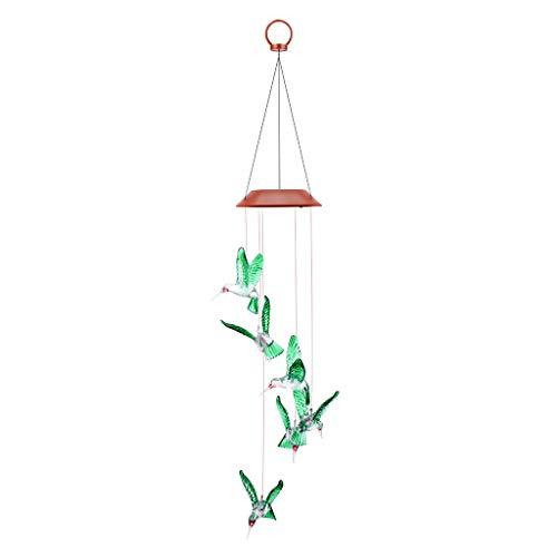 FORH Windspiele, Solar Windspiel Licht, Sonnengott Windspiele Lichterkette LED-Mobile Windspiel mit Wasserdicht Farbwechsel, für Haus/Party/Patio/Nacht Garten Dekoration Terrasse, Balkon und Zuhause -