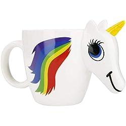 Funky Planet Taza del unicornio 3D Cambio de color