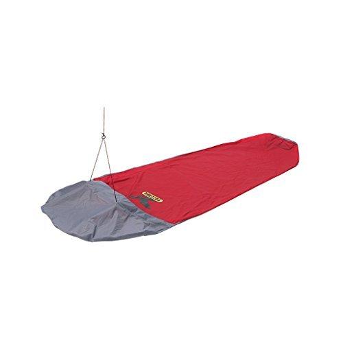 SALEWA Biwaksack PTX Biwi Bag 1-Person, Red/Anthracite, 28.4 x 17.2 x 6.4 cm, 00-0000001871 by Salewa