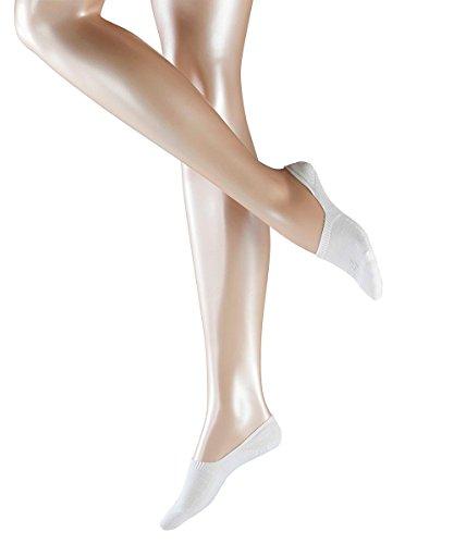 3 Paar Falke Damen Füßlinge 47577 Invisible Family Step Sneaker Cut, Farbe:White 2000, Socken & Strümpfe:35-36