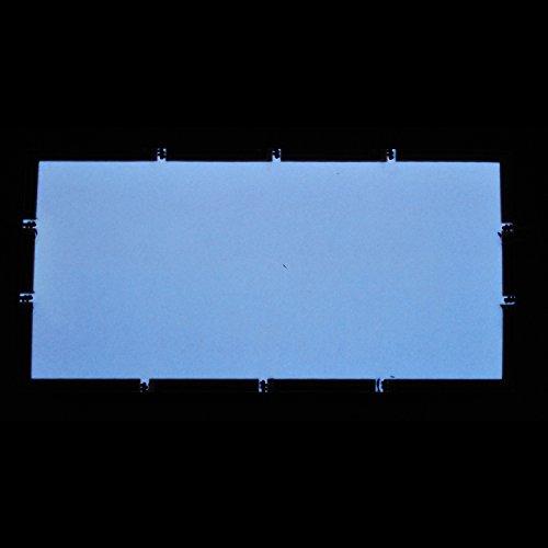 Preisvergleich Produktbild EL-Folie / Leuchtfolie / Plasmafolie Farbe: WEISS Größe: 200x100mm inkl. Zubehör