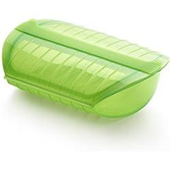 Lékué - Coffret Vapeur avec filtre 3-4 pers vert