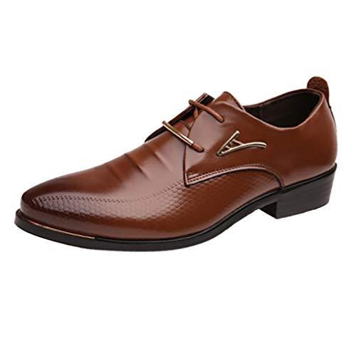 Quaan Mode Männer Business Leder Schuhe Casual Spitzschuh Männlichen Anzug Schuhe