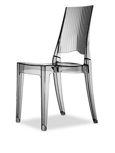 Scab Design Set 2 sedie Glenda Colore Trasparente