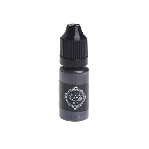 Hohe Kapazität, Dye (Hergon 10 ml UV Harz Liquid Pearl Dye Pigment Harz Epoxy für DIY Schmuck Basteln m 13)