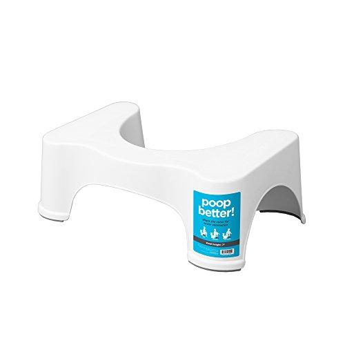 Squatty-Potty - der Original-Badezimmer-WC-Hocker - 17,8cm - Weiß