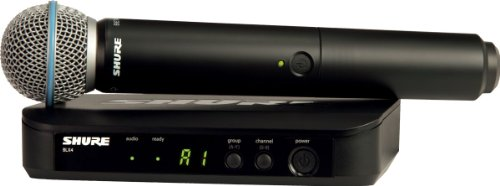 Shure BLX24/BETA58A Radio-microfono wireless professionale