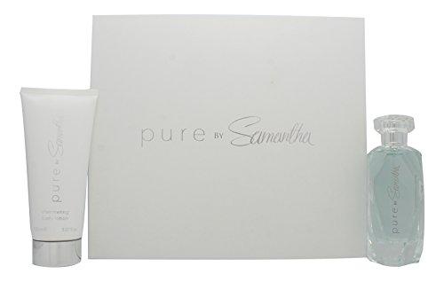 Samantha Faiers Pure Confezione Regalo 100ml EDP + 150ml Lozione Luminosa per il Corpo