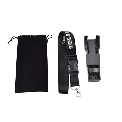 LouiseEvel215 Osmo Taschenhand Stabilize Z-Achsen-Stoßdämpfer mit tragbaren Speicher-Fall-Kasten für DJI Osmo Taschen-Kamera