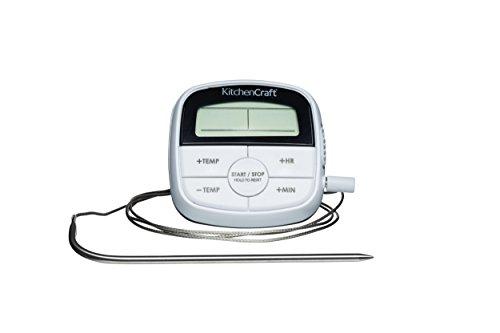 Kitchen Craft termómetro Digital cocinar temporizador