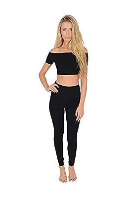 Women's Wardrobe Full Length Cotton Leggings All Colours All Sizes