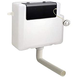 Aqua-Sigma Concealed slimline dual flush toilet cistern