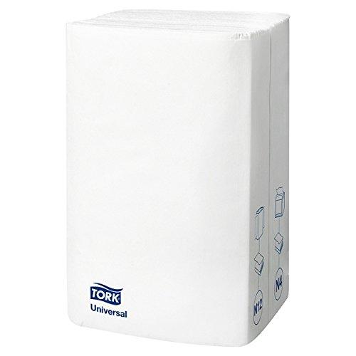 10840 Tork Xpressnap & registro; Blanco dispensador de servilletas, 1ply, White 1/4 veces, 225x5x8 (Pack de 5x225s)