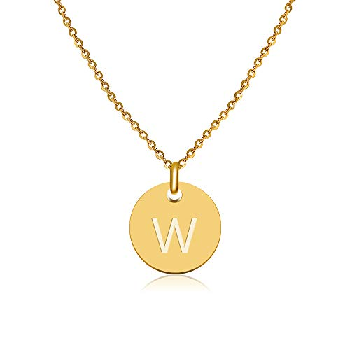 GD GOOD.designs EST. 2015 ® Collar Letras Oro, Colgante