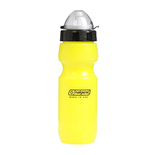 Nalgene Kunststoffflaschen \'ATB Bikeflasche\' Trinkflasche, Gelb, 0.65 Liter