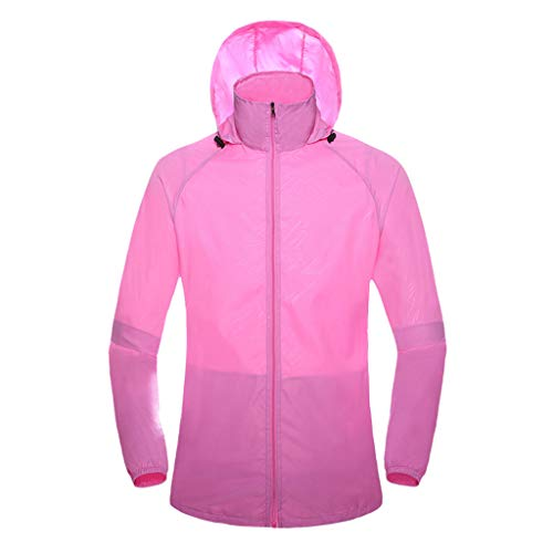 Setsail Damen Bequemes Winddichte Jacke Outdoor Fahrrad Sport Quick Dry Windbreaker Coat Outdoor-Tops Fleece-warm Ups