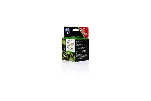 Preisvergleich Produktbild Original Tinte passend für HP OfficeJet 6500 A Plus HP 920XL C2N92AE - 4x Premium Drucker-Patrone - Schwarz, Cyan, Magenta, Gelb - 1x1200 & 3x700 Seiten - 1 x 32 & 3 x 8 ml