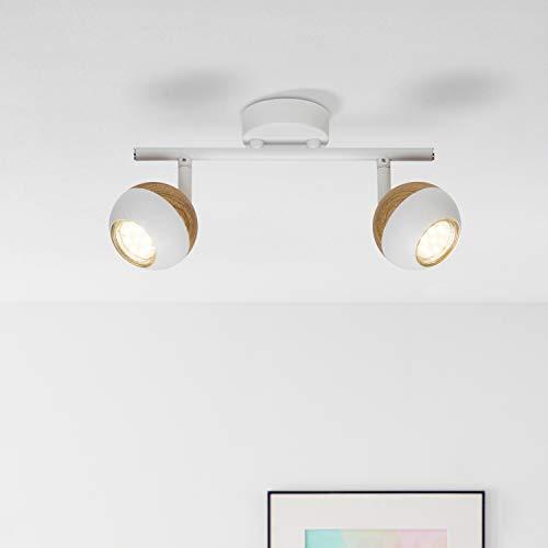 LED Spot Tubo, 2focos, 2x 3W Reflector