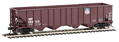 WALTHERS Spur H0 100-Ton 4-Bay Hopper Missouri Pacific / Union Pacific