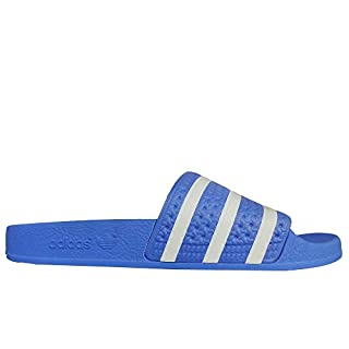 adidas Men's Adilette Water Shoes, Multicolour FTWR White/Real Blue Ee6181, 9 UK