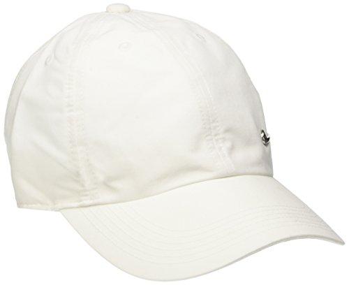 Nike Ya Heritage 86 Swoosh AD - Gorra de tenis unisex para joven, color blanco (White/Metallic Silver)