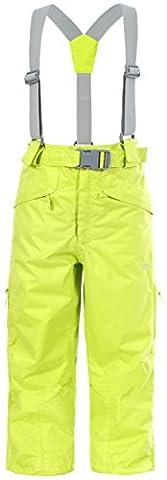 Trespass Marvelous Pantalon de Ski Mixte Enfant, Kiwi, 5/6