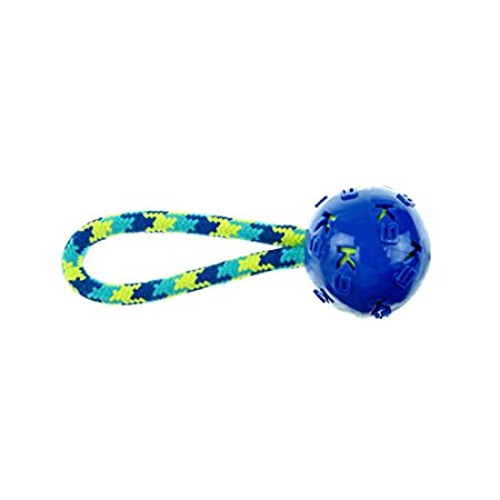 Zeus 96362 K9 Zugspielzeug mit Ball, 23 cm