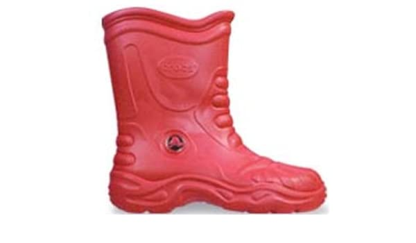 fe5bb3b6fd5188 Crocs Georgie Wellington Boots Red UK 4  Amazon.co.uk  Shoes   Bags