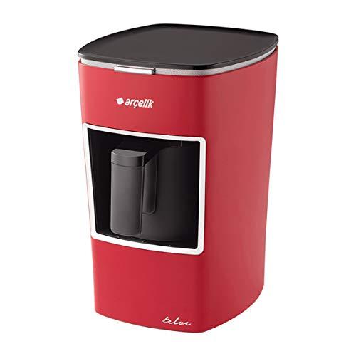 Arcelik telve Mokka Maschine Espressomaschine Türkische Kaffeemaschine ROT