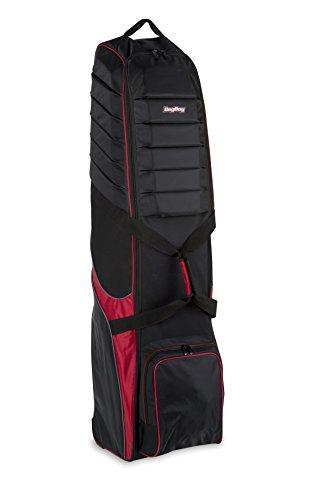 Bag Boy t-750Rädern Travel Cover, unisex, T-750 Wheeled Travel Cover, schwarz / rot (Travel Bag Wheeled)