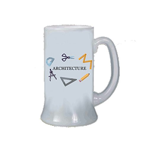 Jarra Vaso Cerveza texto Architecture Idea regalo para un arquitecto