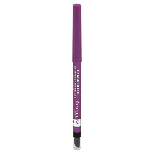 RIMMEL LONDON Exaggerate Waterproof Eye Definer - Purple Shock by