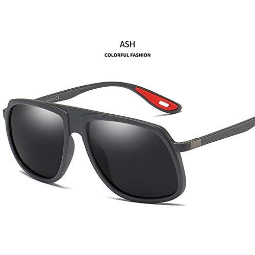 YLNJYJ Sonnenbrillen Sonnenbrillen Männer Hohe Qualität Sonnenbrille Herren Retro Tr90 Brillengestell Marke Sonnenbrille Uv400