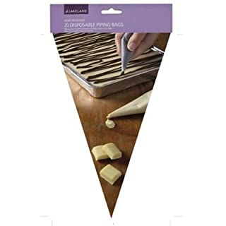 Lakeland Heat Resistant Disposable Piping Bags x 20 (Cut To Size)
