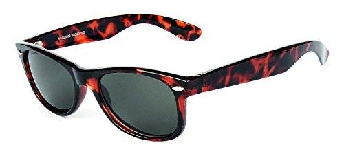 """Preisvergleich Produktbild Aktuelle Kunsstoff-Sonnenbrille im """"Wayfarer Look"""" mit Metallapplikation"""