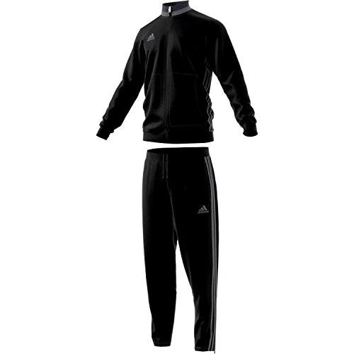 adidas Erwachsene Sportanzug Con16 Pes Suit, schwarz/vista grau s15, XS, AN9831