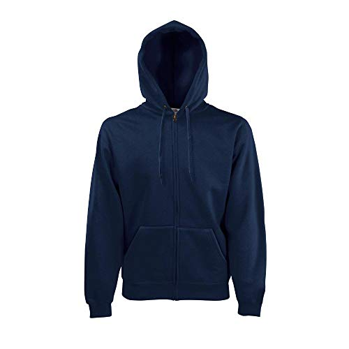 Fruit of the Loom - Hooded Sweat Jacket - Modell 2013 XXL,Deep Navy