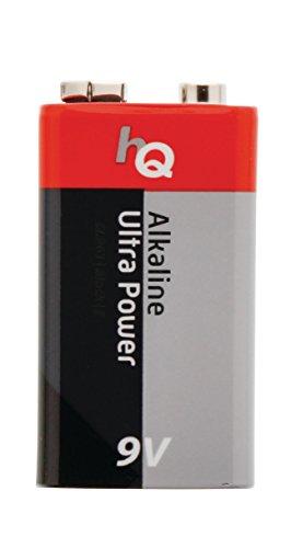Eurosell - 20 Stück 9V Block Alkaline Batterie - zb für Rauchmelder etc. 9V Batterien - nicht...
