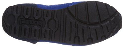 hummel REFLEX TONAL LO Unisex-Erwachsene Sneakers Blau (Limoges Blue 8543)