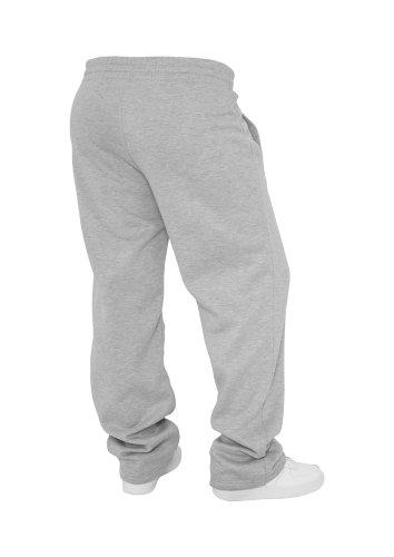 Urban Classics Loose-Fit Pantalon Sweat Limegreen Gris - Gris