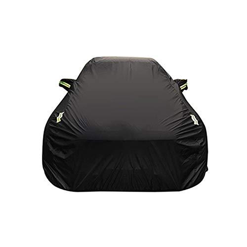 Ch Universal-single (Autoabdeckung Kompatibel mit Toyota ch-r Oxford Tuch wasserdicht schwer entflammbar diebstahlsicherung Auto Abdeckung (Color : Black, Size : Single Layer))