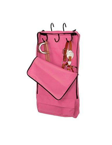Tough 1Zaumzeug/Halfter mit 3Zinken Tack Rack, Pink