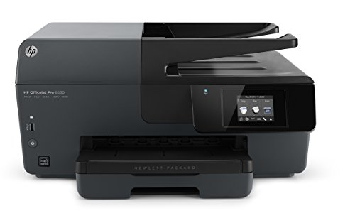 HP Officejet Pro 6830 ePrint Multifunktionsdrucker (Scanner, Kopierer, Fax, Drucker, WiFi, Duplexdruck) schwarz