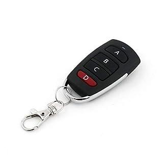 Universal Wireless Remote Control Key 4 Buttons 433MHz Electric Garage Door Security Alarm System Controller Key Car Keys