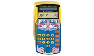 Texas Instruments Little Professor Solar Rechentrainer