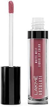 Lakme Absolute Matte Melt Liquid Lip Color, Vintage Pink, 6ml