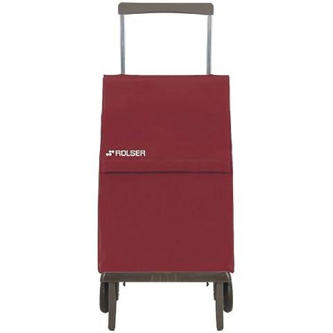 Rolser Plegamatic MF - Carrito de la compra de aluminio