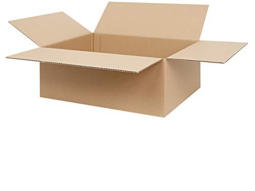 25 Faltkartons 400 x 300 x 150 mm | Versandkarton geeignet für Versand mit DPD, GLS und Hermes | zwischen 25-1000 Kartons wählbar