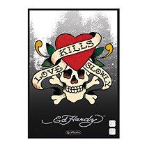 Preisvergleich Produktbild Ed Hardy Schulheft Lin.27 Love kills Slowly