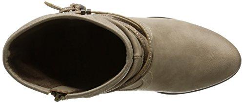 Mustang 1199501, Bottes Classiques femme Blanc Cassé (243 Ivory)